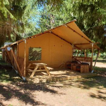 Camping de Maillac **** : Locations