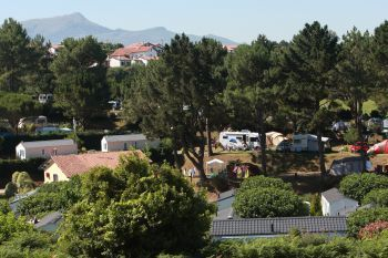 Camping Itsas Mendi **** : Emplacements