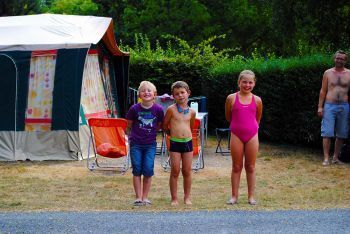Camping La Roche-Posay Vacances **** : Pitches