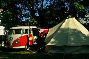 Camping Oyam **** : Pitches